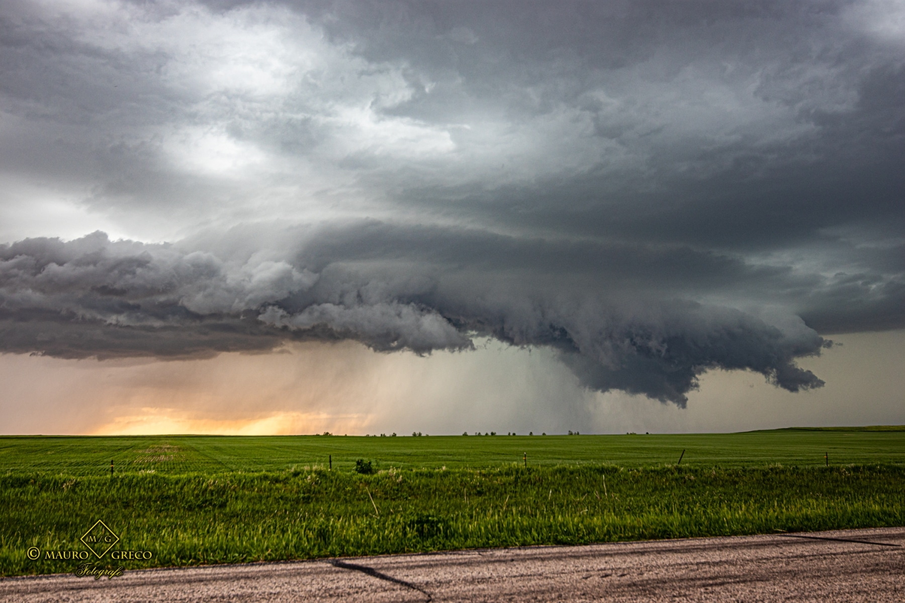 June 7 2020 Ashley North Dakota Supercell - Tornado Tour StormWind