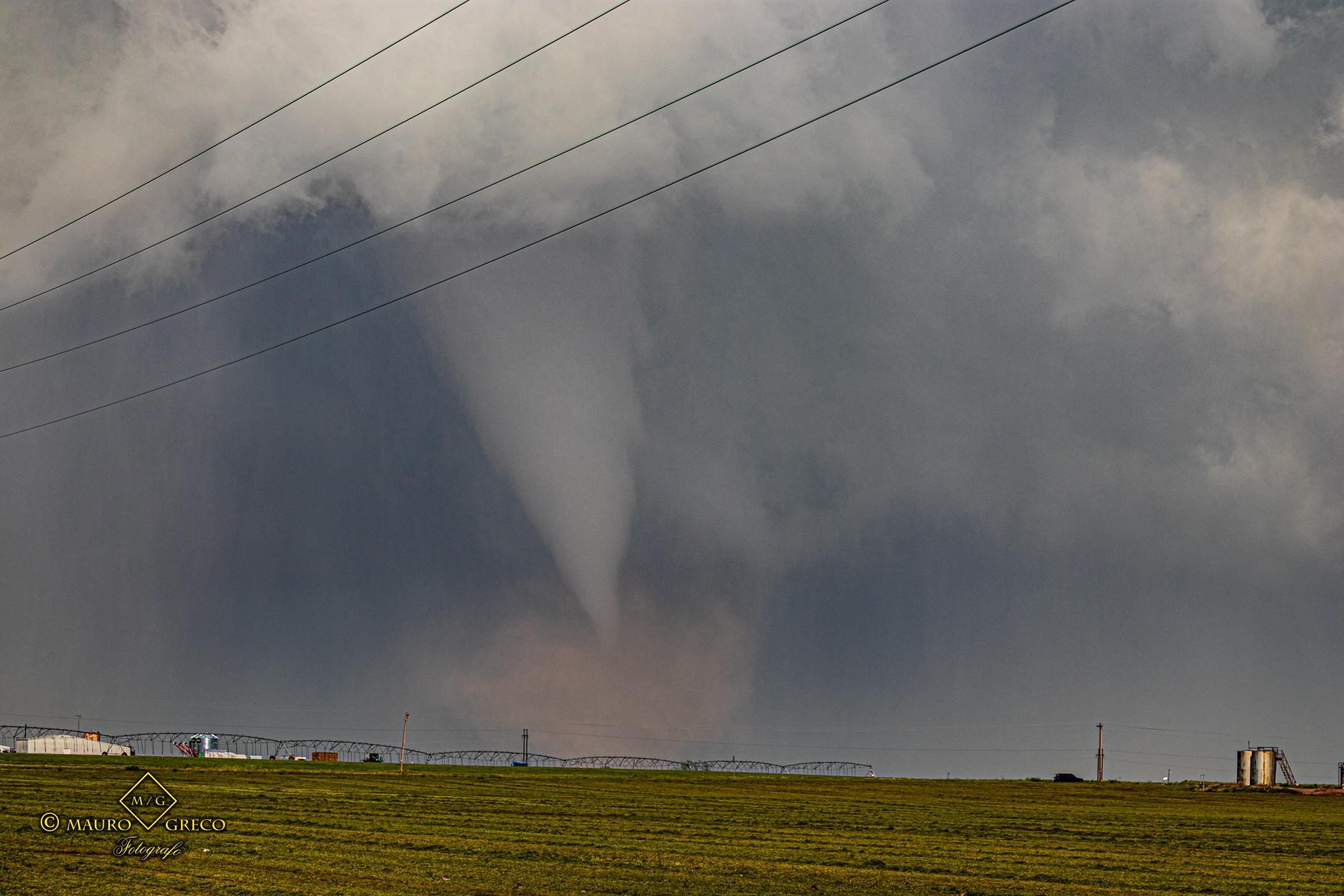 Tornado April 23 2021 Lockett Texas - Tornado Tour StormWind