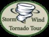 Tornado Tour Storm Wind Logo